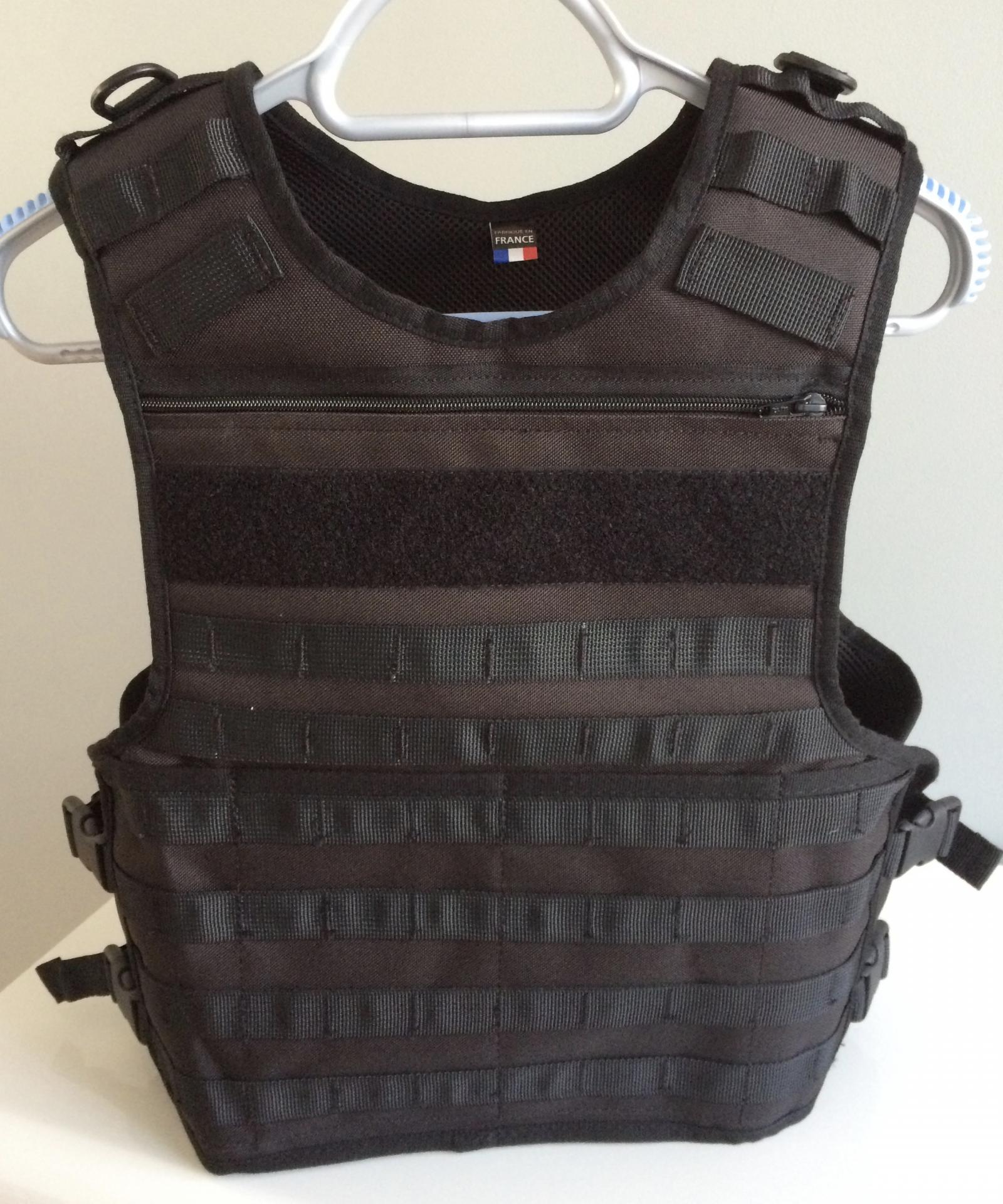 Photos housse gilet pare balle tactique smartchest par for Housse gilet pare balle gk